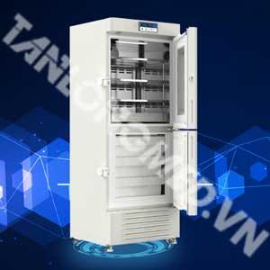 Tủ lạnh kết hợp tủ đông meiling 2~8 - -10~-40 độ C 289 lít